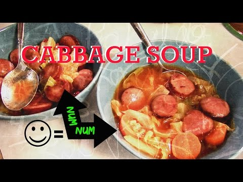 HOW TO COOK CABBAGE SOUP.