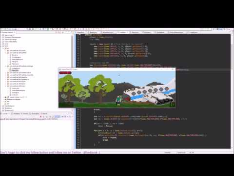 Making game in Java for Ludum Dare #33 - Day 2 - Time lapse