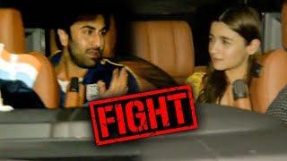 SHOCKING Ranbir Kapoor ANGRY On Alia Bhatt At Gully Boy Screening?