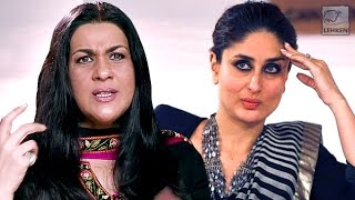 Amrita Singh Breaks Silence On Fight With Kareena Kapoor | LehrenTV