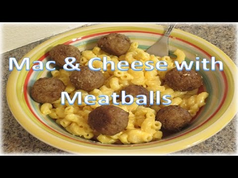 Mac & Cheese with Meatballs (Noodles & Company Inspired)