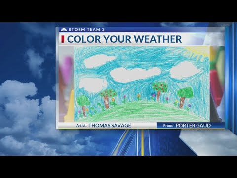 Rob's Weather Artist of the Day for Wednesday, June 6th