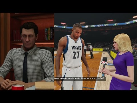NBA 2K15 PS4 My Career - Contract Is Up