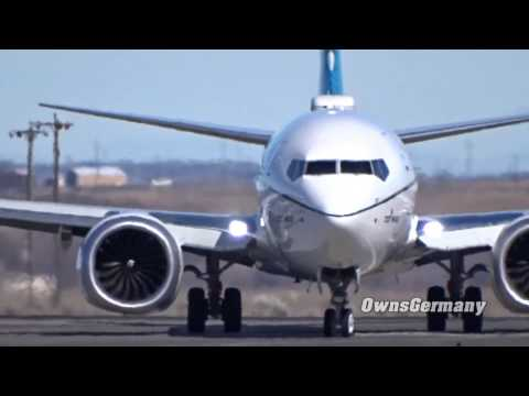 The New Boeing 737 MAX Taxi