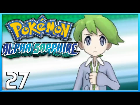 Pokemon Alpha Sapphire Part 27 - Victory Road & Wally Mega Gallade ORAS Gameplay Walkthrough