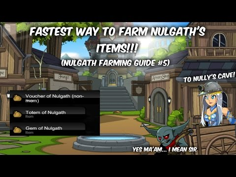 =AQW= GETTING VOUCHER OF NULGATH (non-mem) AND TOTEMS IN A DAY?!  Nulgath farming guide #5