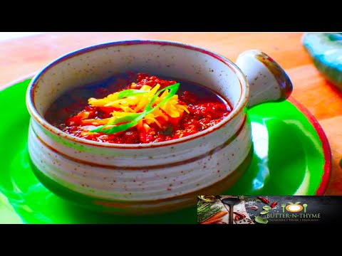Traditional Texas Chili – Chili CookOff Award Winner