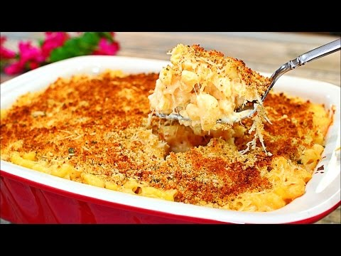 Creamy Garlic Parmesan Mac and Cheese Recipe (Easy Macaroni and Cheese recipe)