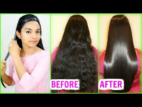 Straighten Hair Naturally At Home - Magical Hair Mask | INSTANT RESULTS | Anaysa