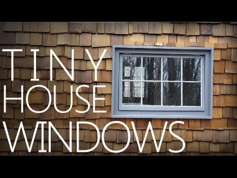 Building a Tiny House #4 - Making Windows