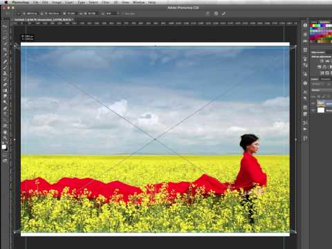 Adding Printer's Crop Marks And Bleed Using Photoshop