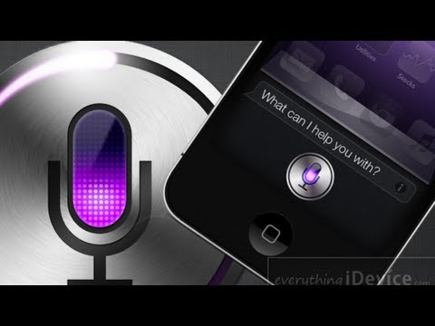 How To Install Siri On iOS 5.1.1 For iPhone, iPod Touch And iPad