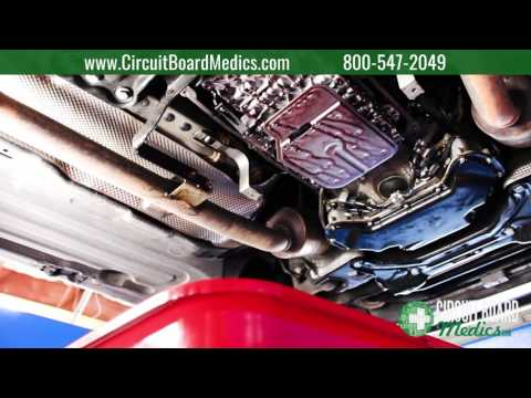How to change the transmission fluid in a Mercedes-Benz 722.9 7G-Tronic transmission