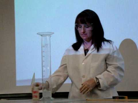 Chemistry FIRE Demo: Acetyline + Bleach