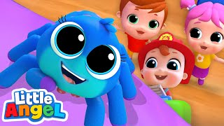 Itsy Bitsy Spider Song|  Nursery Rhymes by Little Angel