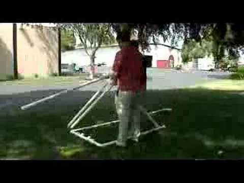 Make Your Own Catapult Out of PVC Piping!