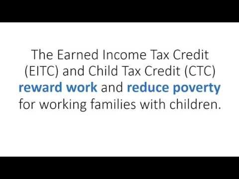 5 Ways Working-Family Tax Credits Help