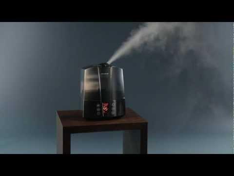 Ultrasonic Humidifier AIR-O-SWISS U7147: Operation Video