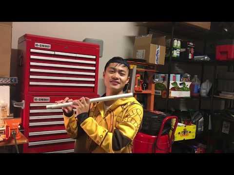 How To Easily Make a PVC Flute