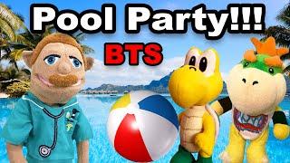 SML Junior's Sick Pool Party! BTS! Pt. 1