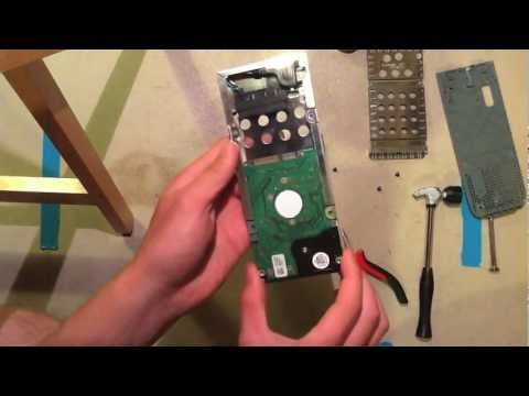 How to remove Xbox 360 Hard drive without torx and transfer to slim