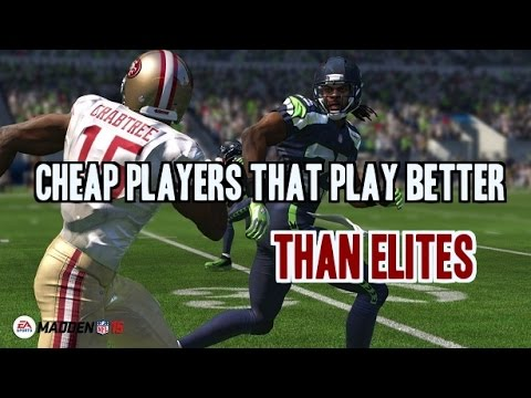 Madden 15 Ultimate Team Cheap Offensive Players That Play Like Elites!