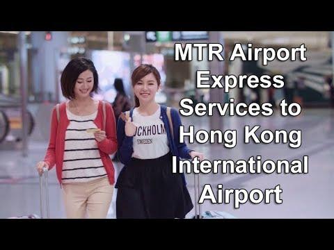 MTR Airport Express Services to Hong Kong International Airport