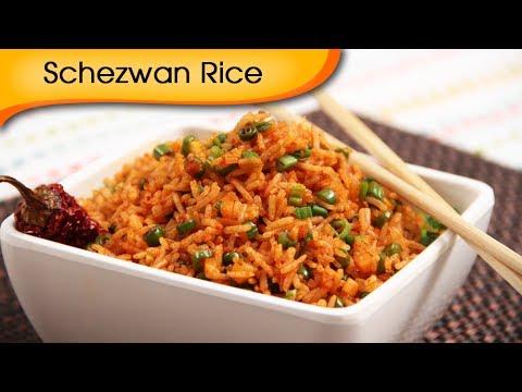 Quick Five Minutes Veg Schezewan Rice Recipe - Chinese Main Course Recipe By Ruchi Bharani