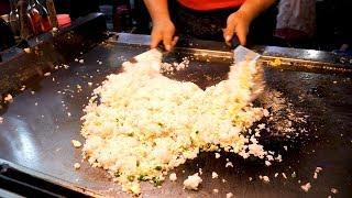Taiwanese Egg fried rice - Taiwan street food