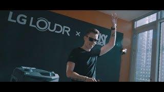 LG LOUDR x Nicky Romero - LG Audio Experience of Nicky Romero(Teaser)