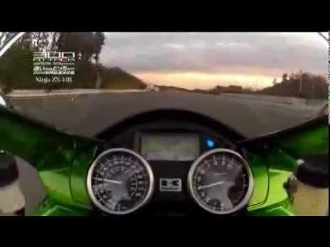 Kawasaki Ninja ZX-14 and Suzuki Hayabusa at top speed...! Must watch & Must share :) !!