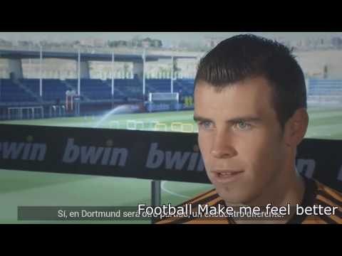 Gareth Bale Motivation Interview How to become a professional footballer show his secret