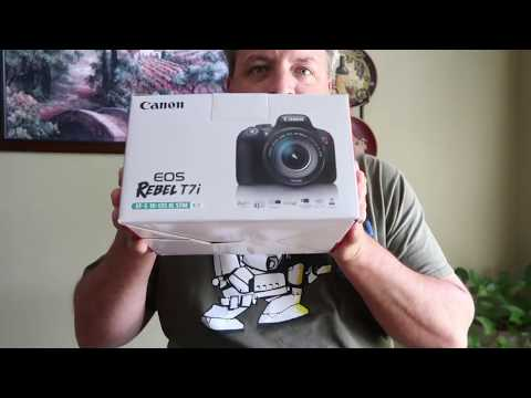 Unboxing Canon EOS Rebel T7i With Anniversary Ending