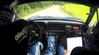 On board from Lahti Historic Rally