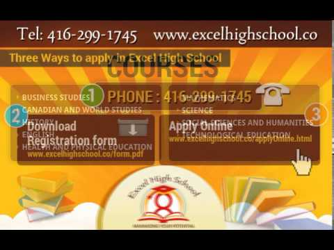 Best High School in Toronto for Credit Courses: Excel High School