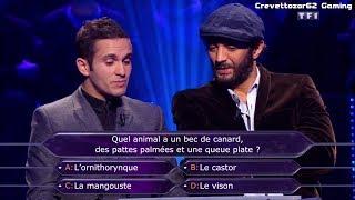 Qui Veut Gagner Des Millions - 02/01/2015 - Ramzy et Malik Bentalha