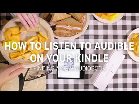 How to purchase Audible books from your Kindle