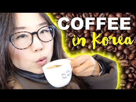 Korea's Famous Coffee Street ♦ CAFE HOPPING