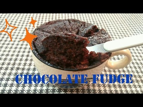 No Bake Eggless Chocolate Fudge Cake Recipe. 2 Minutes Chocolate Mug cake. Easy Dessert Recipe