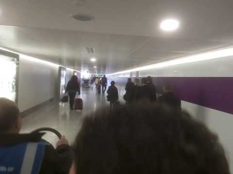 London Heathrow airport electric car shuttle