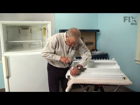 Maytag Refrigerator Repair – How to replace the Freezer Door Gasket
