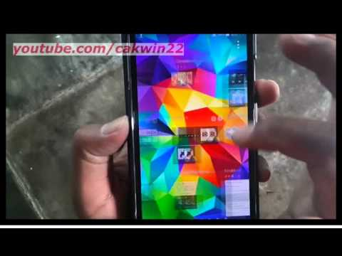 Samsung Galaxy S5 : How to get weather (Android Phone)