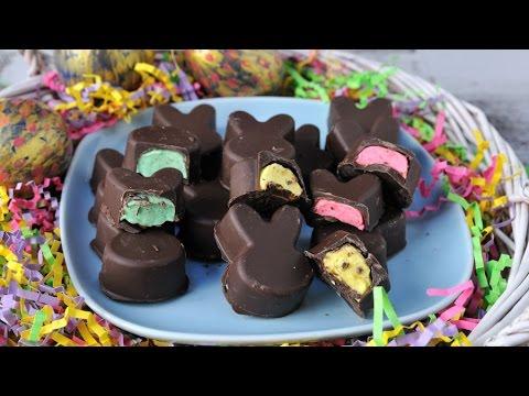 MARSHMALLOW CHOCOLATE BUNNIES HANIELA'S