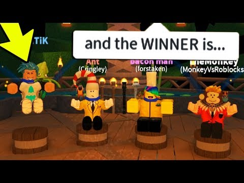 AND THE WINNER IS... *CREW AND FRIENDS* (Roblox SURVIVOR)