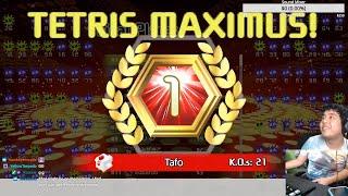 21 KO INVICTUS Game - Tetris 99