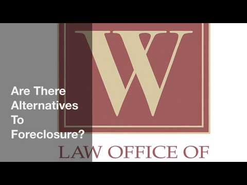 Are There Alternatives To Foreclosure?
