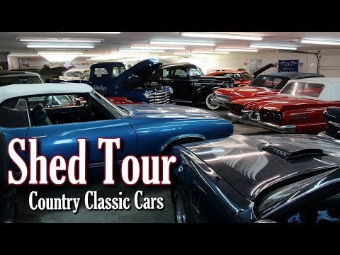 Shed Tour at Country Classic Cars - Part 1