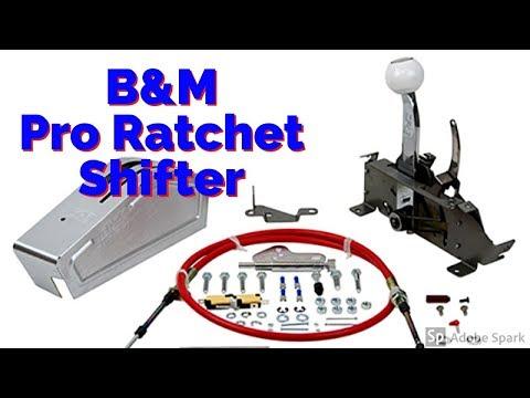 B&M Pro Ratchet Shifter 80843 Unboxing