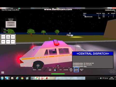 Ilinos State Police ROBLOX Patrol!