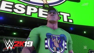 WWE 2K19 John Cena entrance video
